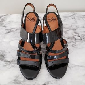 Sofft Women Heels Strappy Sandals 7.5
